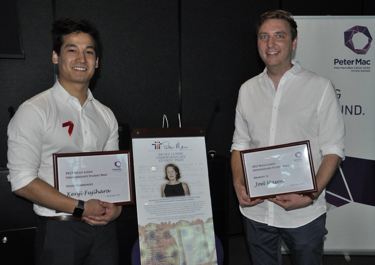 We warmly congratulate former @UROP_BioMedVic Scholar Kenji Fujihara for this outstanding achievement!