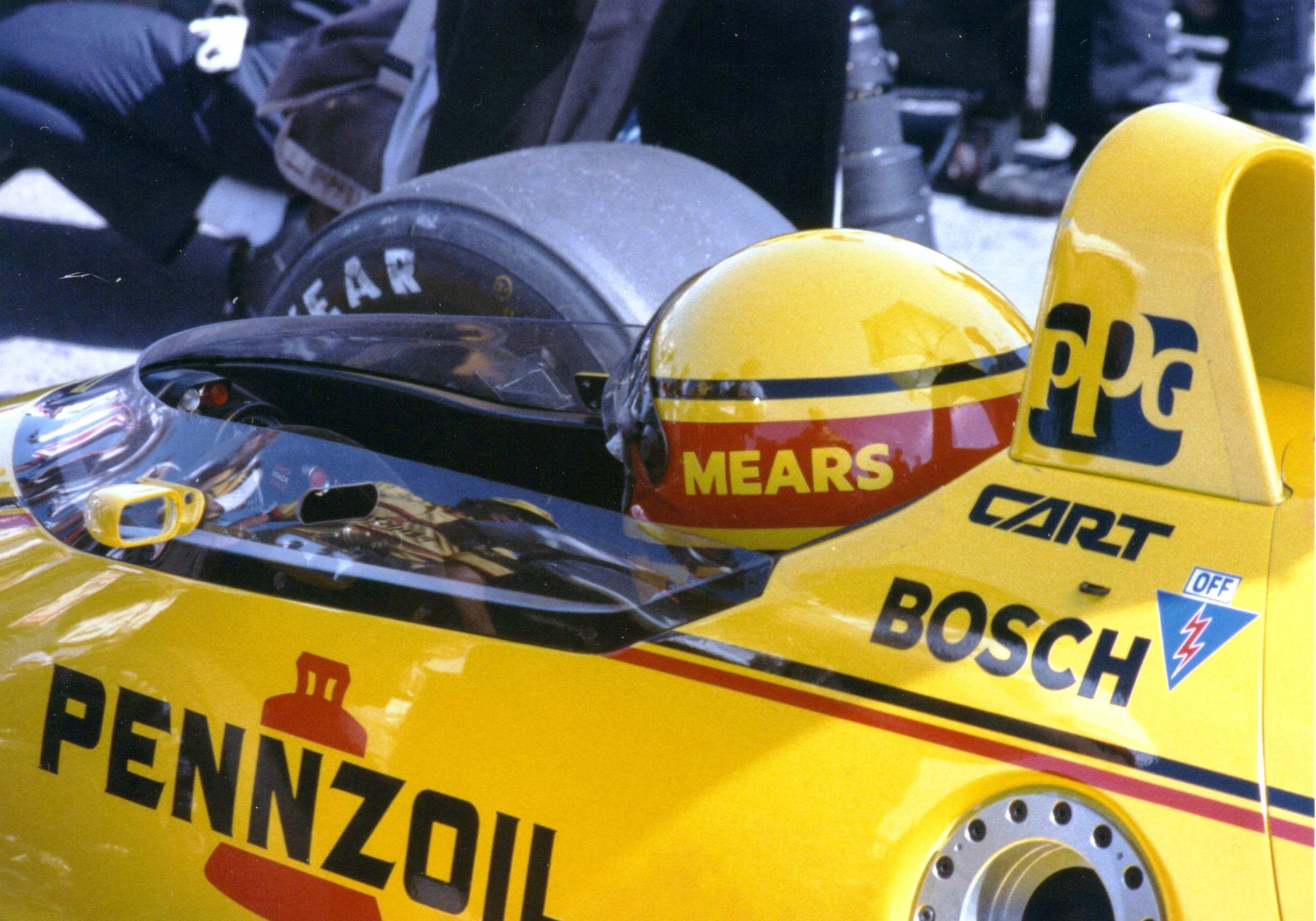 Happy Birthday to 4-time winner Rick Mears. This is from in 1988.