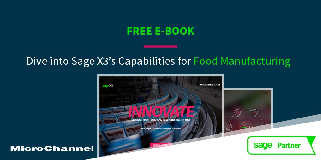 Optimise Your #Food Manufacturing Process with #SageX3  http:// ow.ly/qNij30gSNIg  &nbsp;    #tech #IT #business #SMB #SmallBusiness #SagePartner @SageAustralia<br>http://pic.twitter.com/W2vZLx7OQD