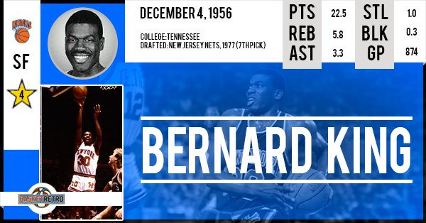 Happy birthday Bernard King