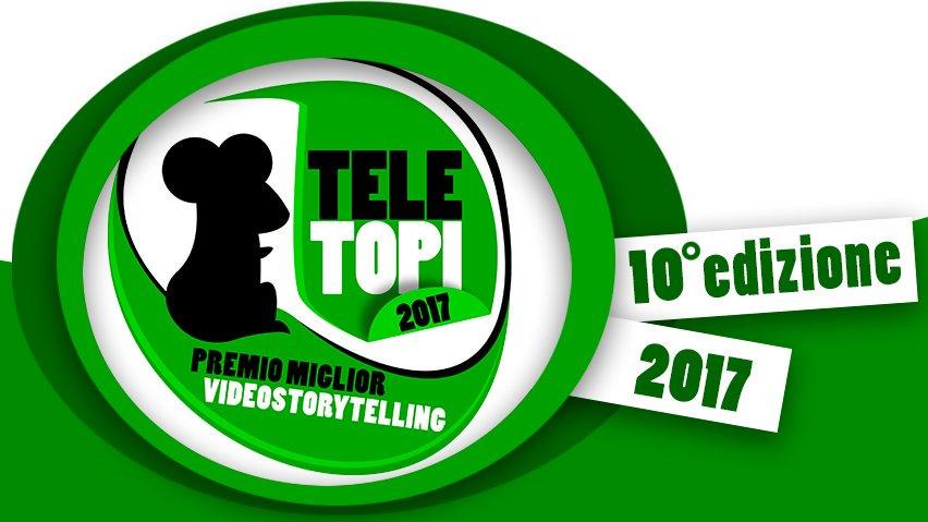 @gpcolletti Mercoledì 13 dicembre a Bologna tornano i #Teletopi, gli oscar dello storytelling multimediale. Registrazioni aperte https://t.co/HzBTBv9Ffr https://t.co/uD74iOQB2b