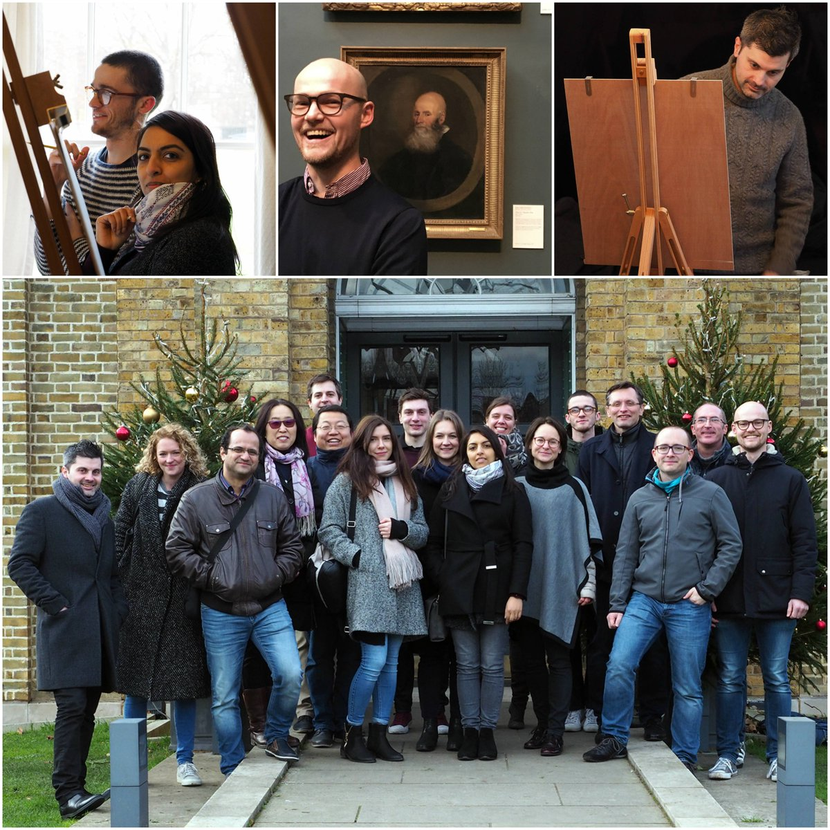 Last week we swapped pipettes for paintbrushes @DulwichGallery. Some of us even managed to create our own masterpiece!