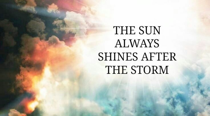 After The Storm Quotes Classy Inspirational Quotes On Twitter The Sun Always Shines After The