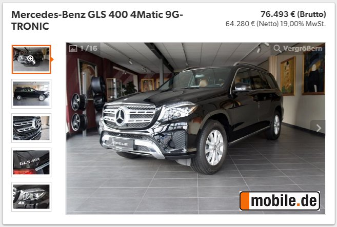 Hofele On Twitter For Sale Mercedes Benz Gls 400 4matic 9g