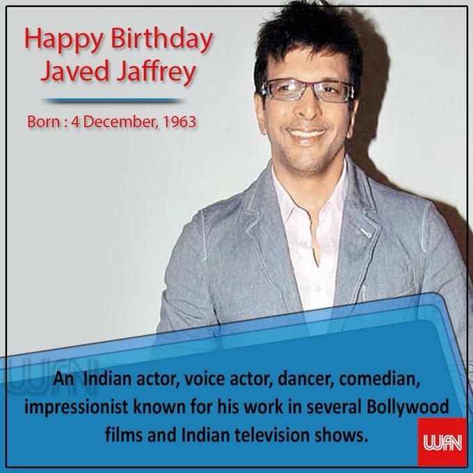 Wish you a very happy birthday Javed Jaffrey