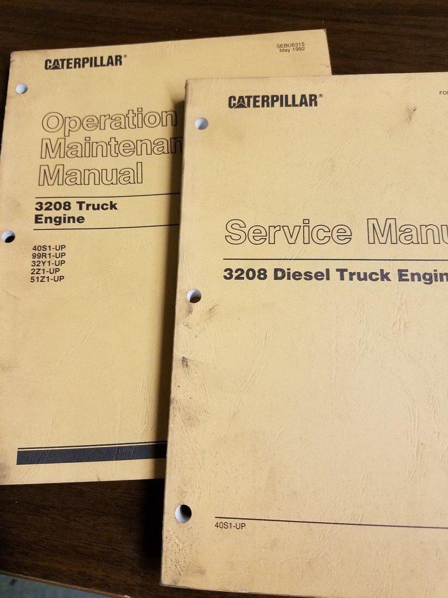 Caterpillar 3208 parts Manual