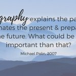 A little inspiration for #geography lovers this Monday morning, courtesy of Michael Palin... #MondayMotivation #geographyteacher