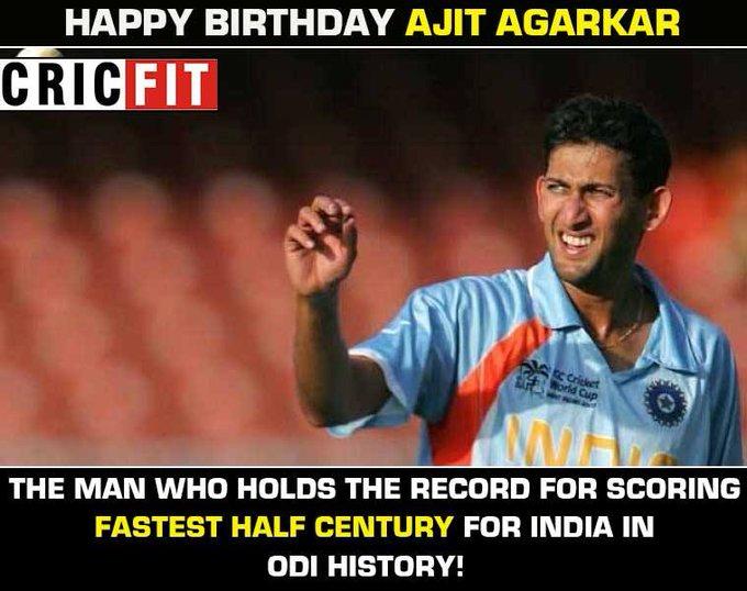 Ajit Agarkar's Birthday Celebration   HappyBday to