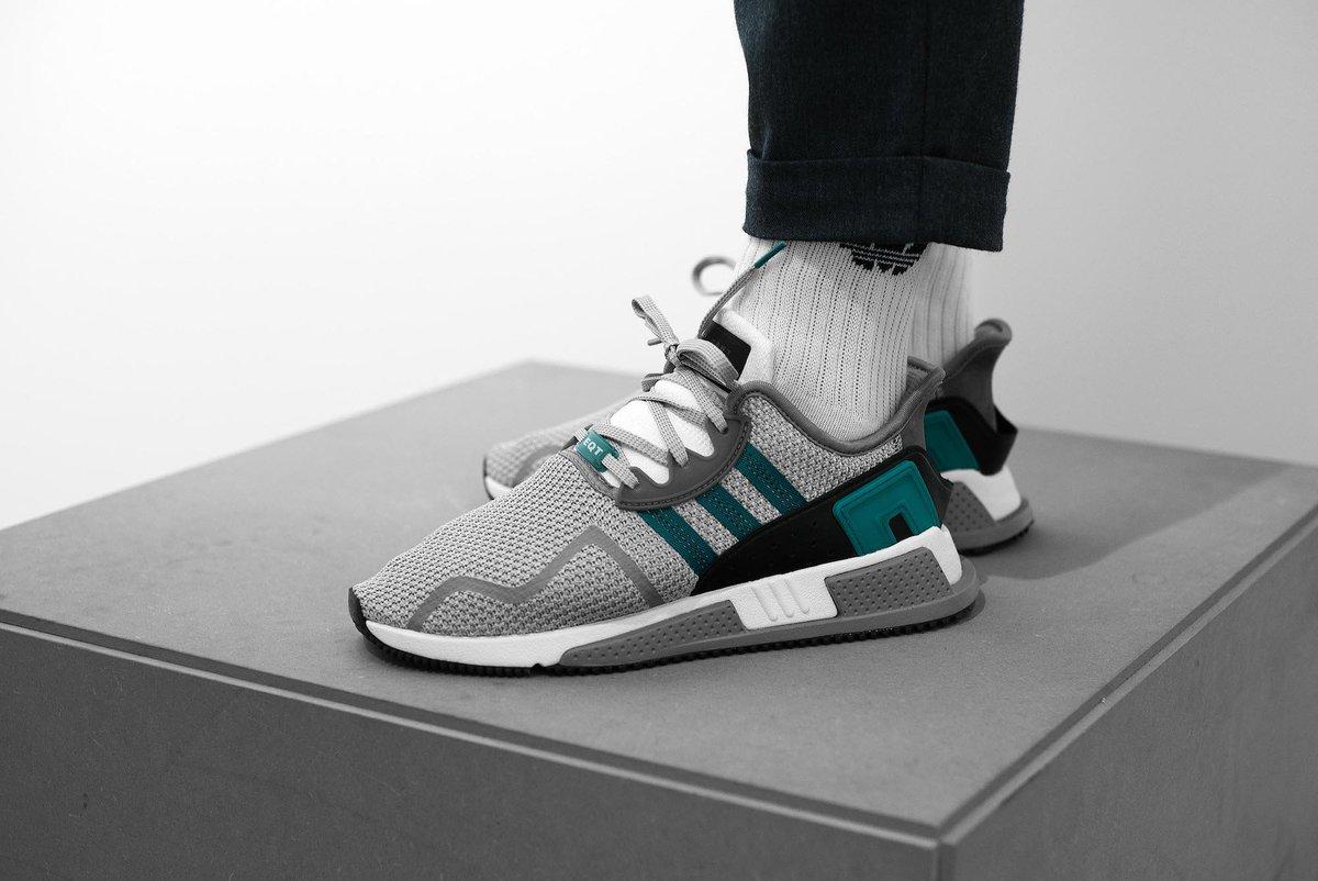 adidas eqt cushion adv grey two sub green
