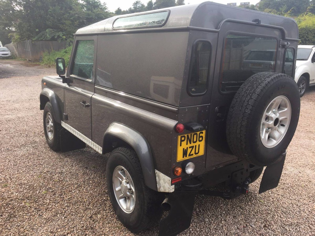 Edge On Twitter For Sales Great 2006 Landrover Defender 90 In Land Rover Clutch Stornoway Grey Condition 12months Mot New Flywheel Plus Loads Of History