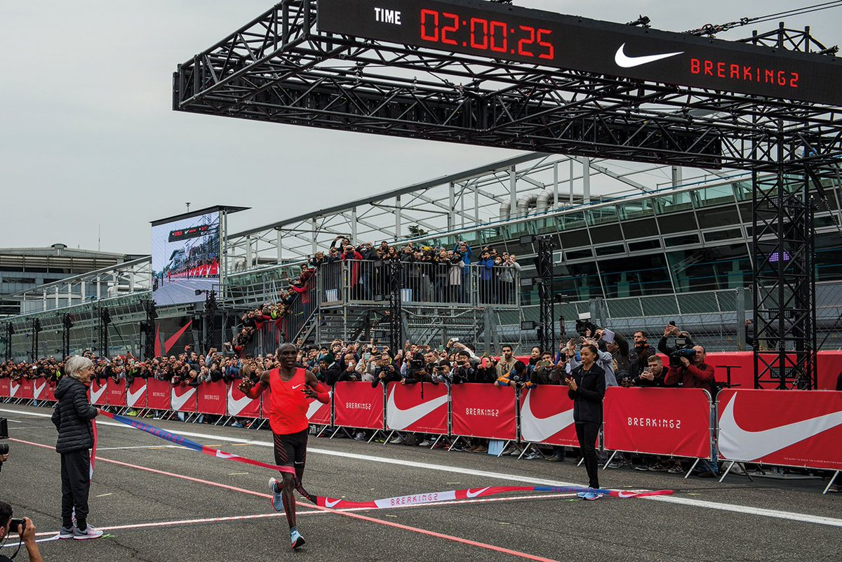 Campaign of the Year 2017: @Nike #Breaking2 https://t.co/sYRQCPFmok