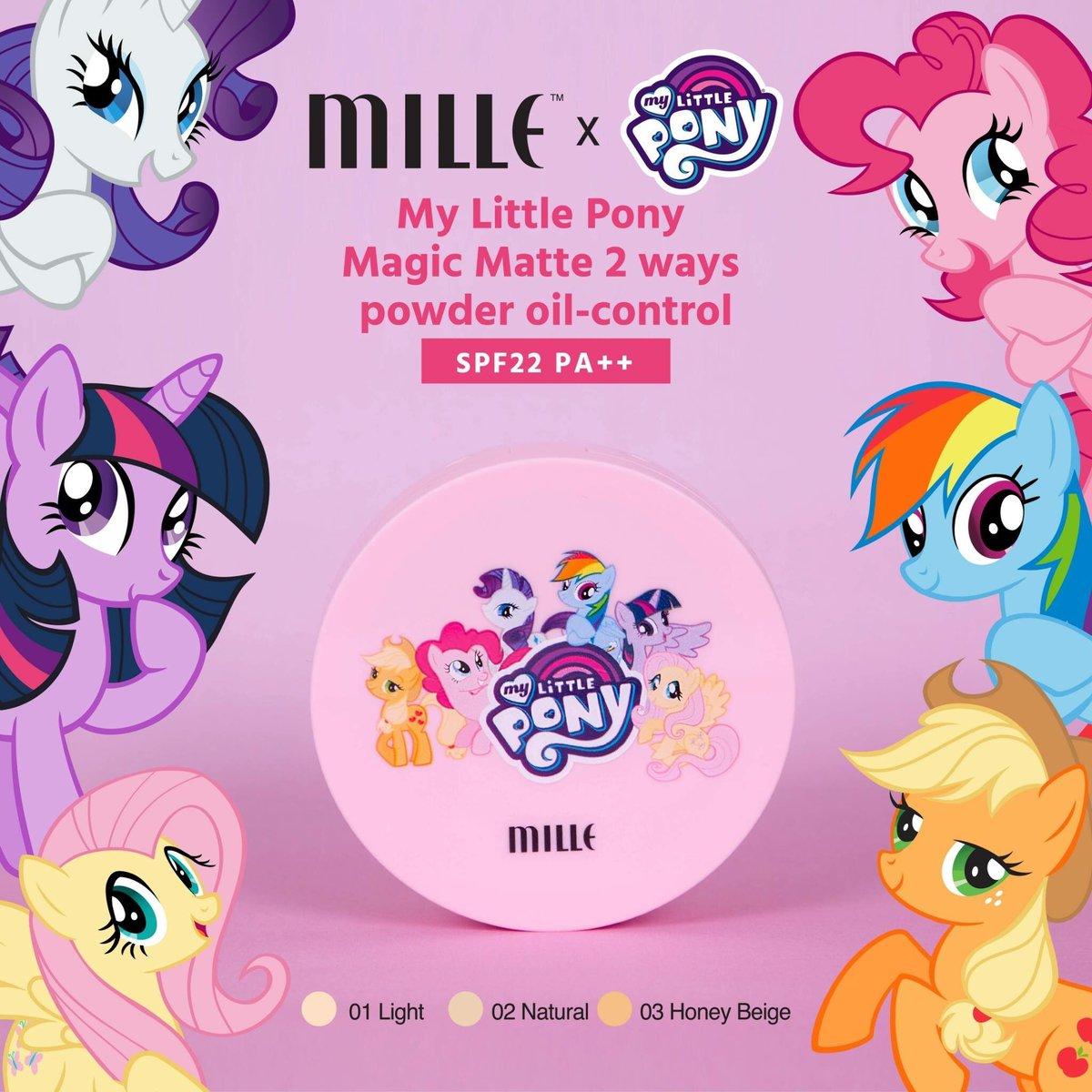 ผลการค้นหารูปภาพสำหรับ Mille My Little Pony Magic Matte 2ways