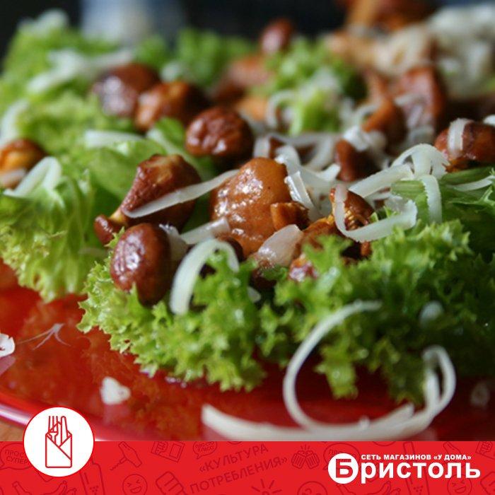 Рецепт салата с маринованными огурцами