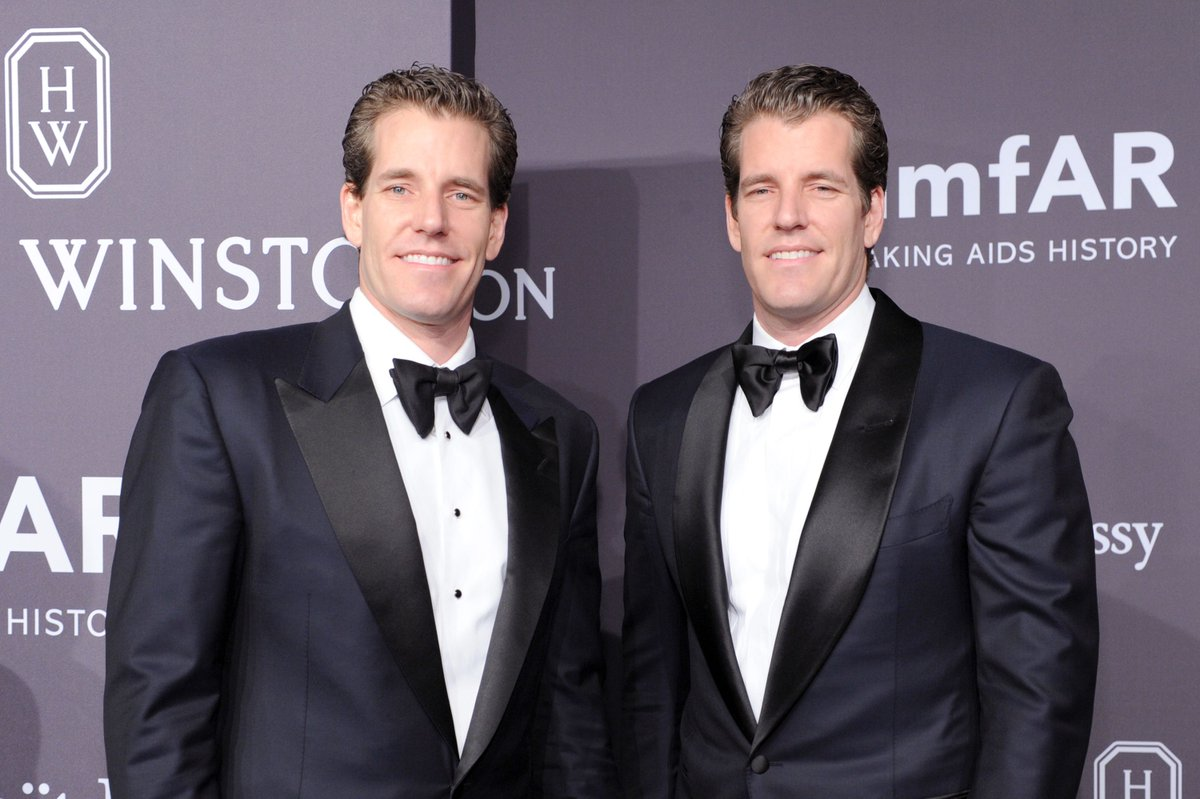The Winklevoss twins are now Bitcoin billionaires https://t.co/zMdVRcwbba