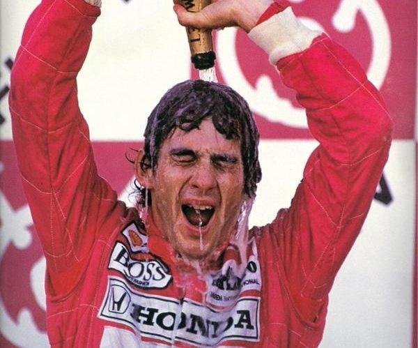 Ayrton Senna: três vezes campeão do mund...