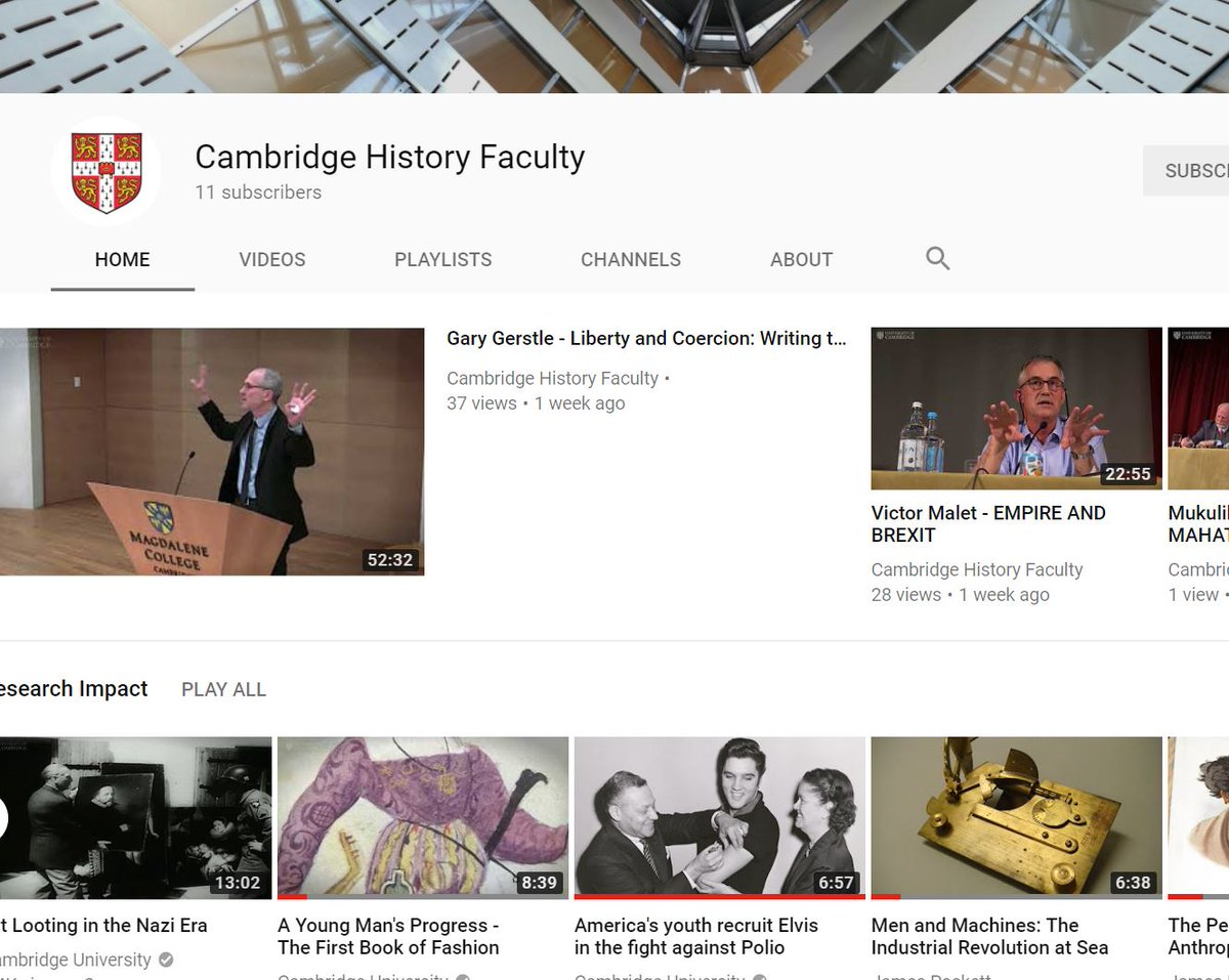 cambridge history