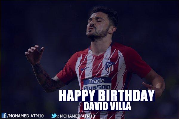 happy 36th birthday David Villa ATM