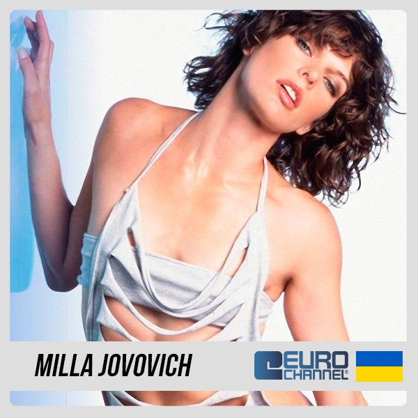 A living beauty from Ukraine is celebrating today. Happy Birthday Milla Jovovich!