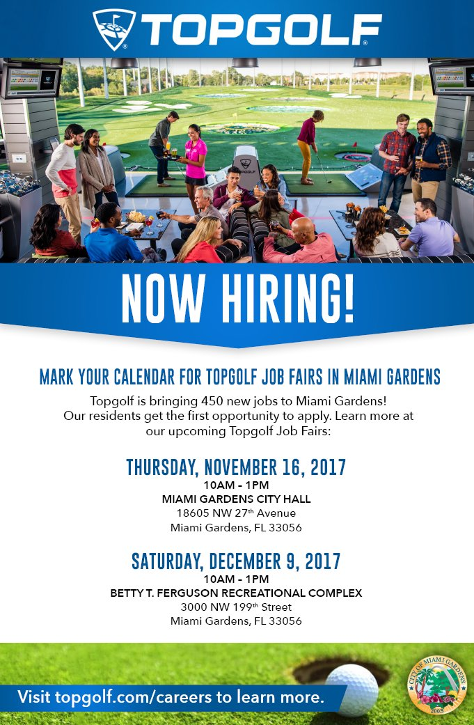Miami Gardens FLGovt on Twitter Explore New Job Opportunities with