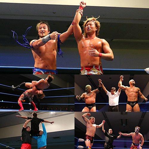 """AJPW: Resultados """"Real World Tag League"""" Kento Miyahara y Yoshitatsu se afianzan en la cima 6"""