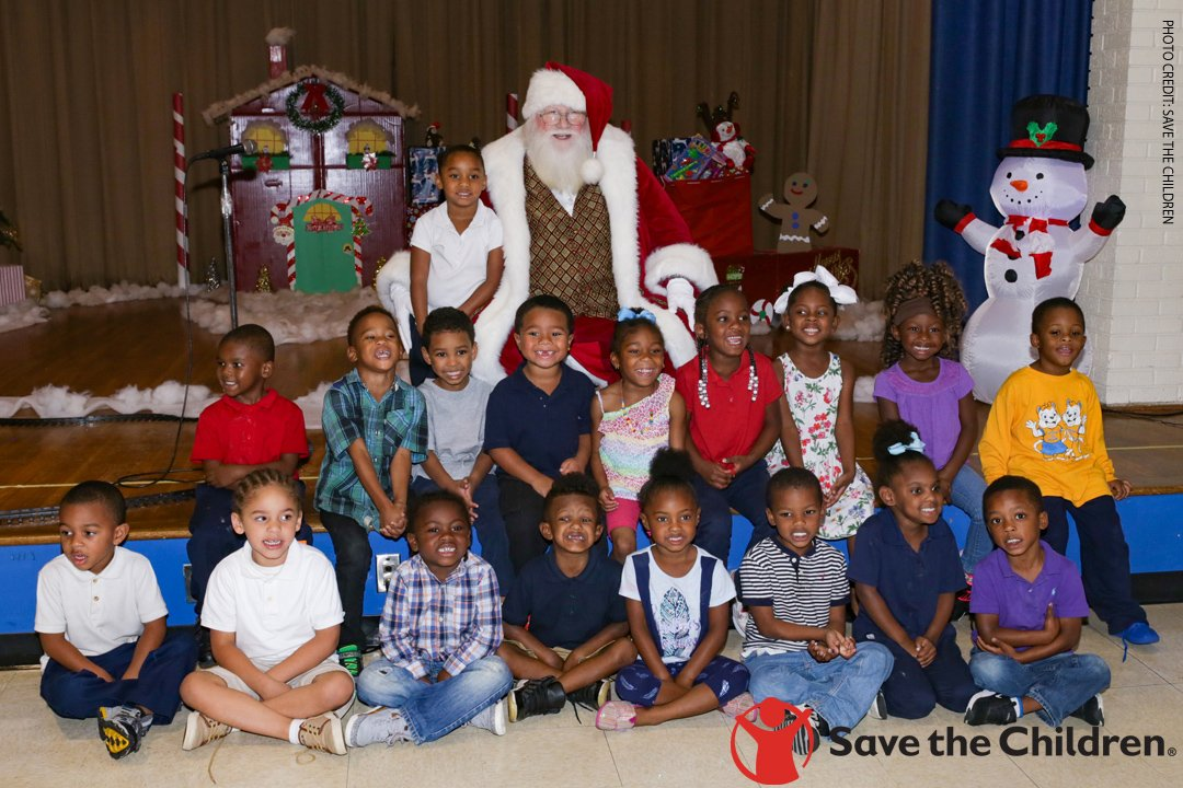 Does Pre K Make Any Difference >> Save The Children Us On Twitter Santa Stopped By To Read A Story