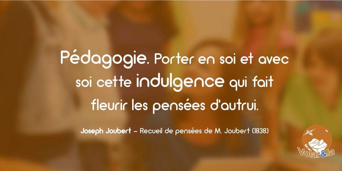 Volarela Twitterissä Lundi Citation Pédagogie Porter