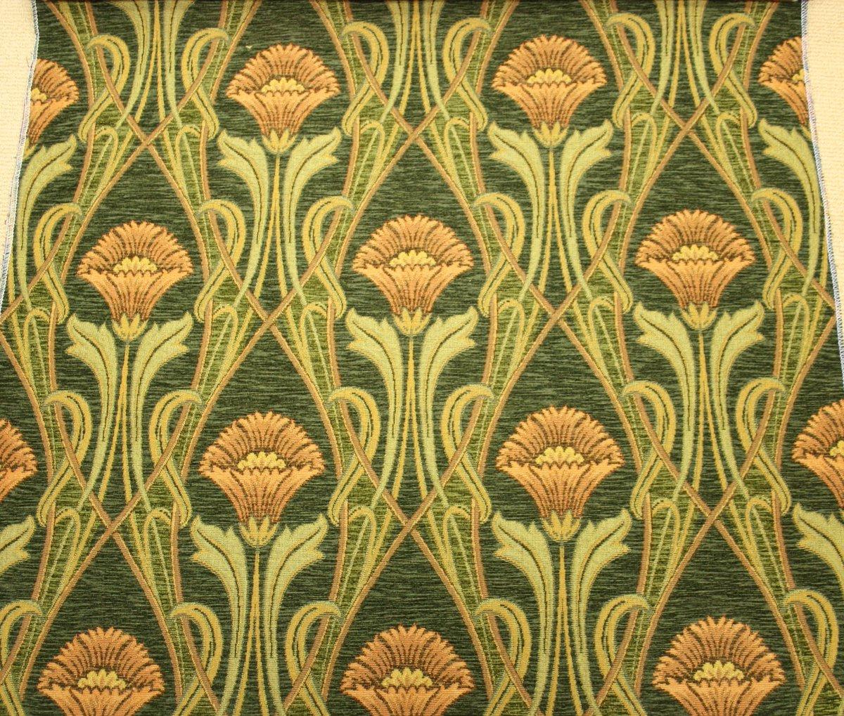 Art Deco Meubelstof.Maison L Art Nouveau Auf Twitter Bij Zo N Subtiel Behang Mag Best