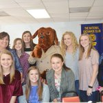 Members of the XC Excel Club of Pike Liberal Arts, Troy, AL, were guests of the XC of Troy, AL, to support its efforts to raise funds to outfit McGruff the Crime Dog that will assist the Troy PD in increasing crime awareness and personal safety in Troy!  #ExchangeStrong