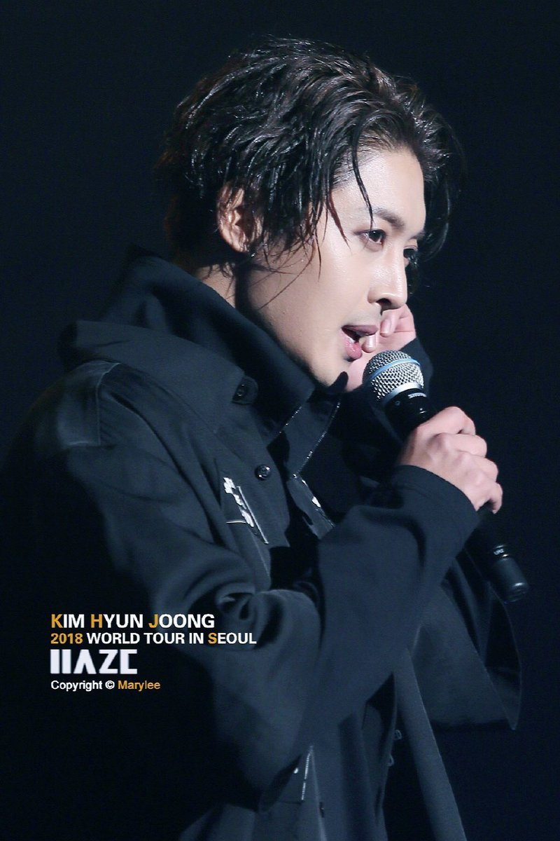 "iku♡ on Twitter: ""Kim Hyun Joong 2018 World Tour 'HAZE' IN ..."