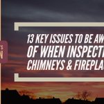 The Chimney Safety Institute of America offers some useful tips for chimney & fireplace inspecting.https://t.co/jXg49xC3gX