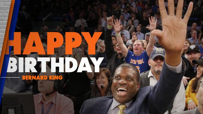 To wish Bernard King a Happy Birthday!