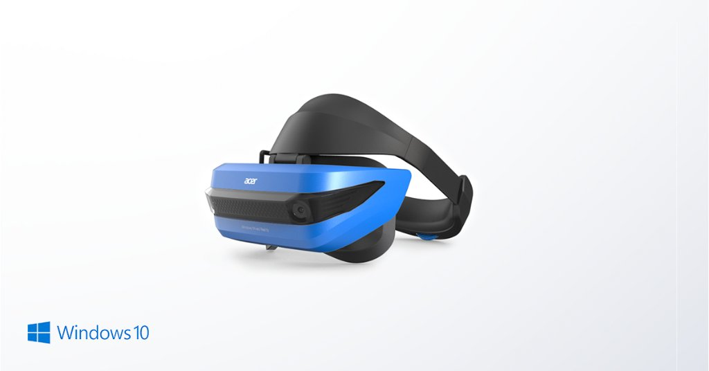 """'""""Easy set-up • Truly immersive VR • Controller tracking is stunning"""" are just a few ways @LanceUlanoff and @RayWongy describe the @Acer #WindowsMR headset. Read the full review from @Mashable here: http://mashable.com/2017/11/27/acer-mixed-reality-headset-and-controllers-review/?utm_cid=hp-n-1#75CUiqHsCmqi?ocid=wmr_soc_omc_win_tw_Photo_lrn_SteamVRWMRReheat #VR' from the web at 'https://pbs.twimg.com/media/DQOGDeaX0AASrQp.jpg'"""