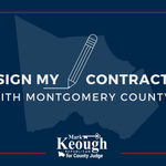 In my contract with Montgomery County, I pledged to work to create an environment of transparency that will eliminate the possibility of actual or perceived conflicts of interest. Visit my website to sign my contract & learn more about this pledge: https://t.co/Tx309plqdx