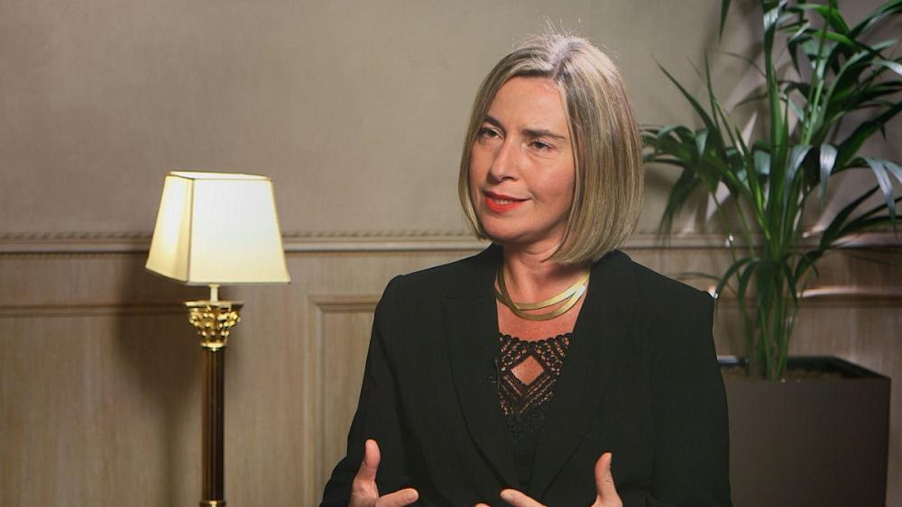 Federica Mogherini: 'Europe is already fighting slavery in Libya' https://t.co/M2EJ2xiI8p