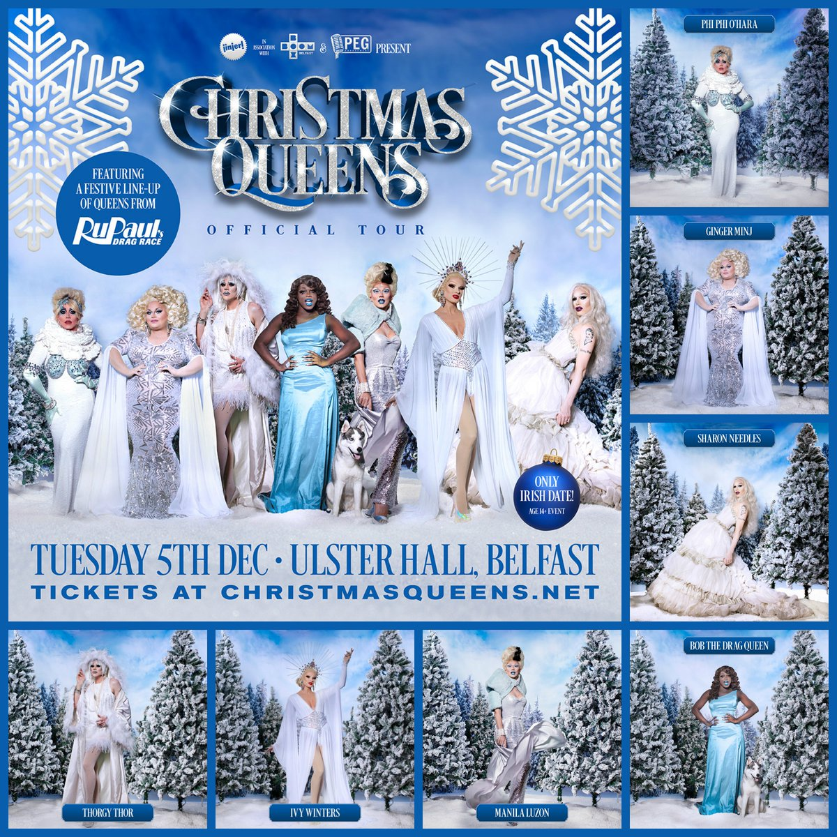 Christmas Queens.Belfast Pride On Twitter Less Than 24 Hours Until The
