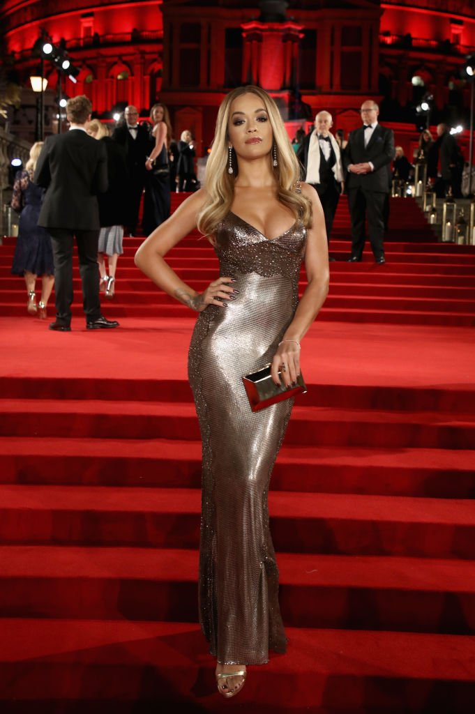 It's official: the nineties are back if @RitaOra's 1992 @Versace dress is anything to go by... #FashionAwards