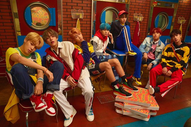 .@BTS_twt earns highest-charting & first top 40   hi@billboardt#Hot100 for a K-pop group w/'MIC Drop' - new at No. 28!  🔥💯https://t.co/VNEhKKvzxU