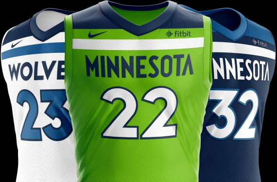 ... jersey in the Timberwolves uniform set. http   news.sportslogos .net 2017 12 04 minnesota-timberwolves-will-not-wear-fourth-jersey-until-february-1st   ... d7b0829bc