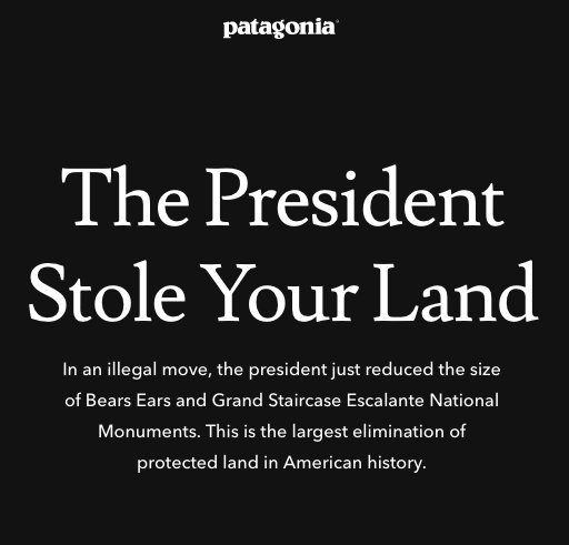 This is the largest elimination of protected land in American history. Take Action: https://t.co/biZPxo7PHh #BearsEars