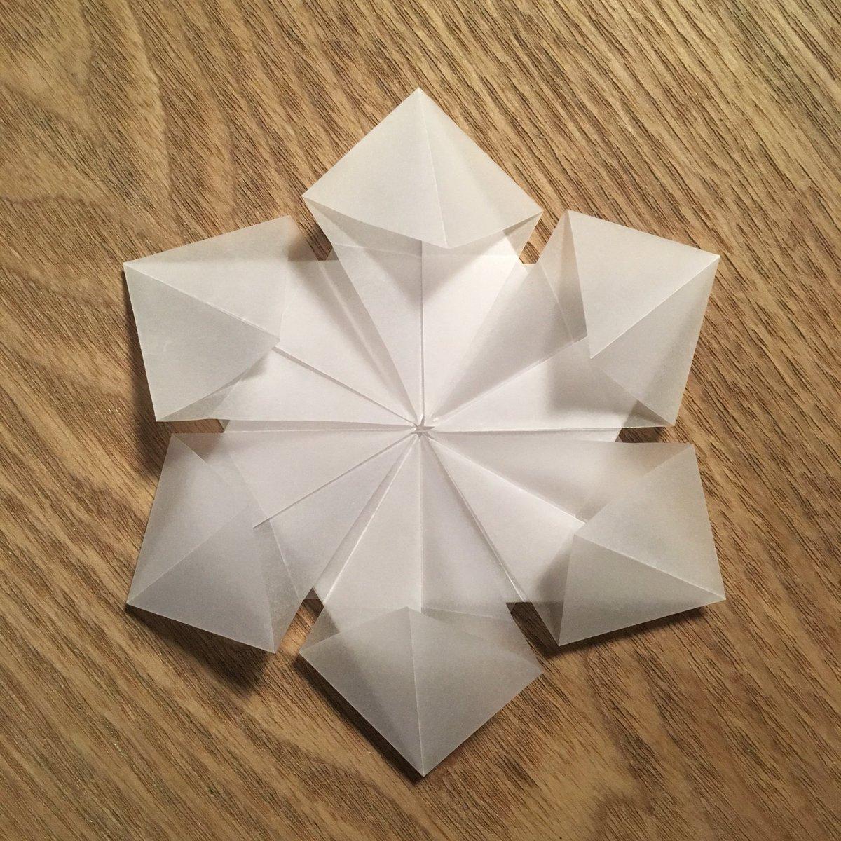 Clarissa Grandi On Twitter Fryrsquared Origami Snowflakes