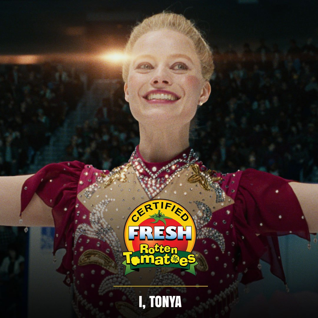 #ITonya is now #CertifiedFresh at 87% on the #Tomatometer! https://t.co/36oVYA7xu6