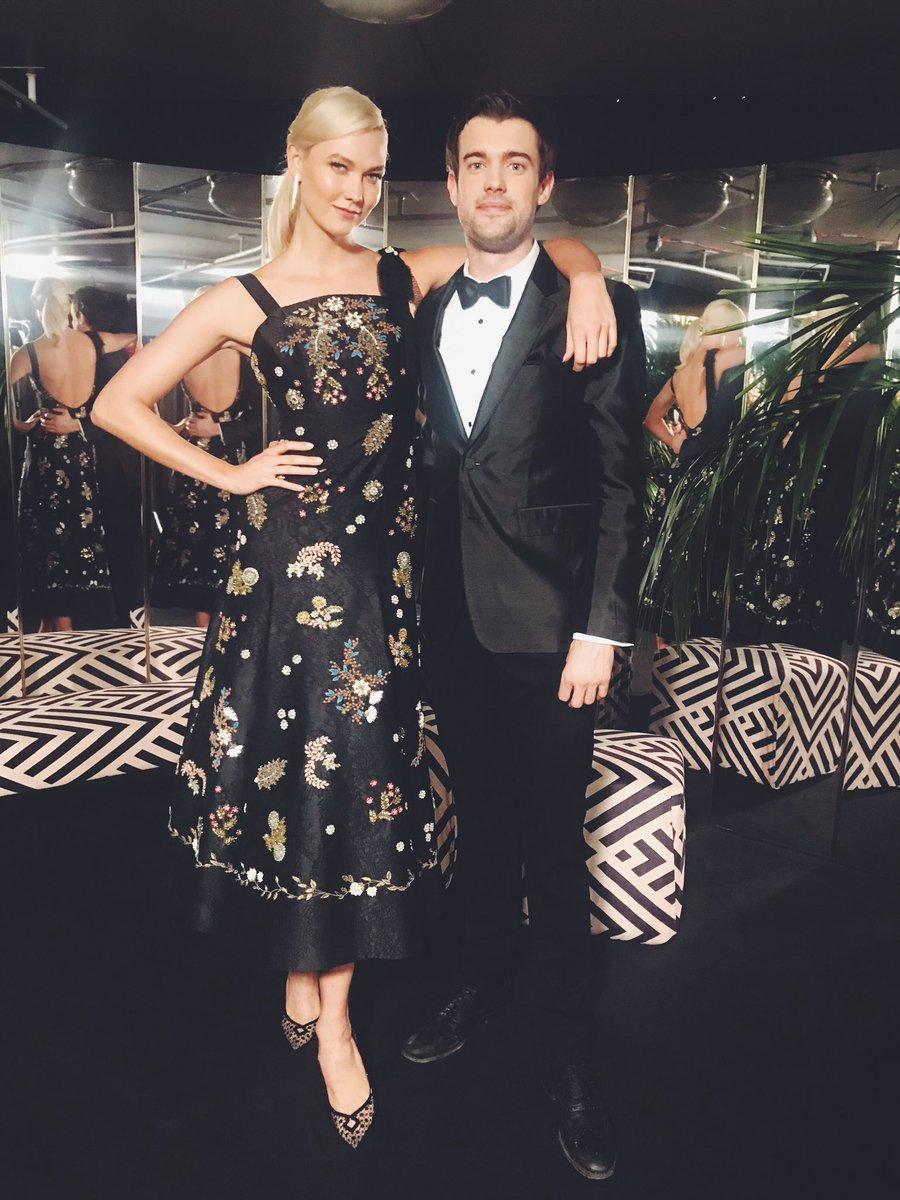Hosting the British #FashionAwards this year with the hilarious @jackwhitehall. Here we gooo 🦒🕺🏻