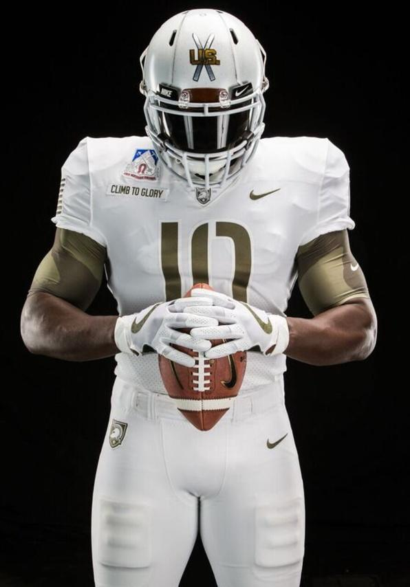 9bfc05fdb army is wearing these uniforms against navy this weekend in honor of the  10th mountain division
