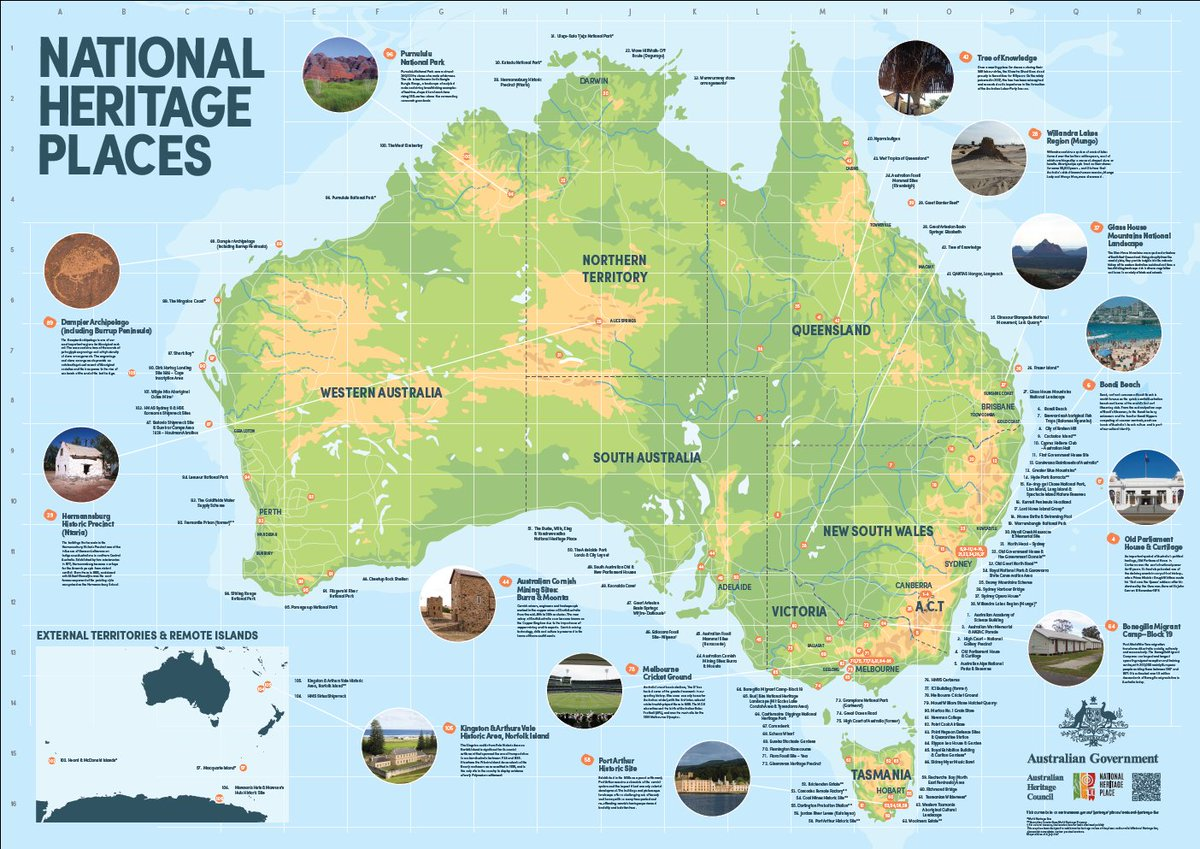 check out this extraordinary australian heritage council map find a little bit of history close to your home high res here httpbitly2zsw92d
