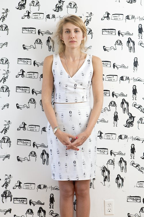 2c22c9253a6 2 Days until  INKMiamiArtFair! INK PREVIEW  SARA ZIELINSKI s  This Doll s  House  Installation will transform SUITE 153 into an immersive printed  environment ...