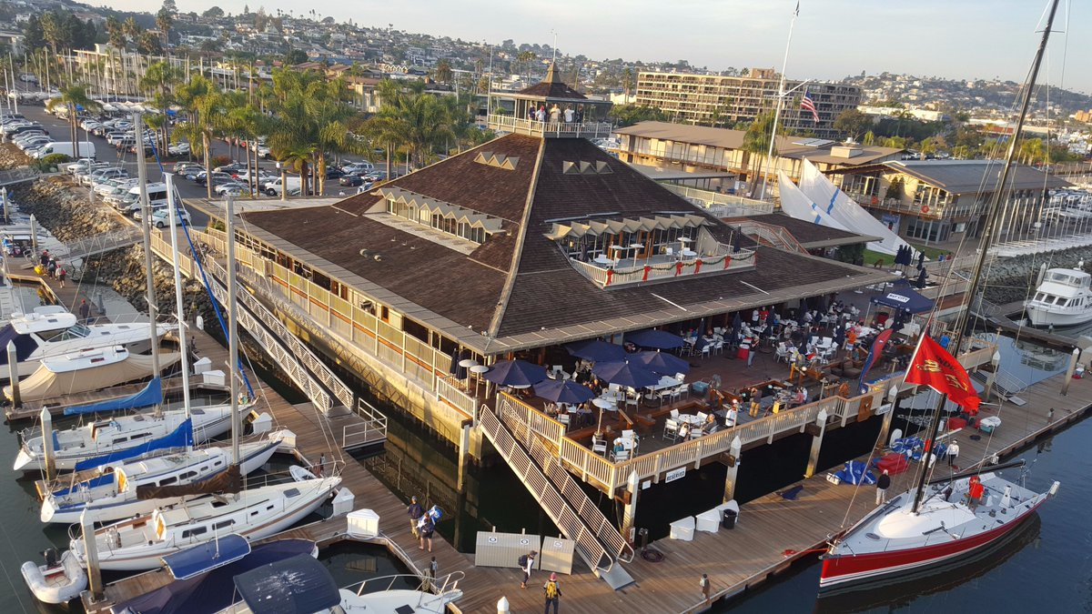 San Diego Yacht Club On Twitter View Of The Sdyc Clubhouse From