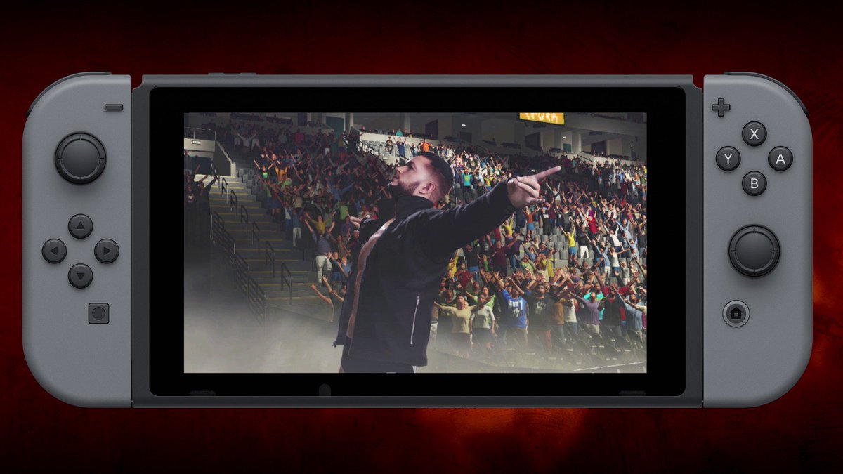It's happening! #WWE2K18 releases on #NintendoSwitch starting December 6! https://t.co/ZBye3xQZ9d