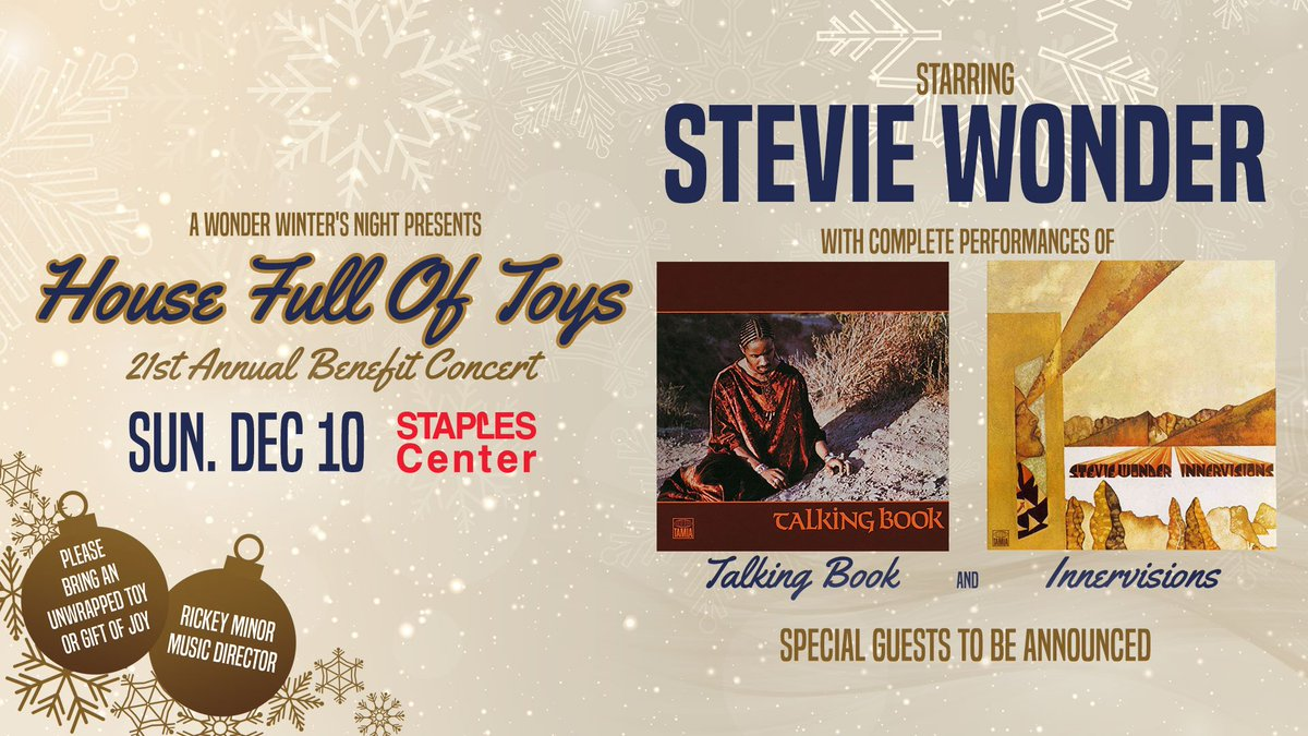 Listen. There are $35 @Goldstar tickets for #StevieWonder's House Full of Toys benefit this weekend. He's doing full performances of #TalkingBook and #Innervisions.  I'm booked, but somebody needs to go get blessed for cheap, so... https://www.goldstar.com/events/los-angeles-ca/stevie-wonder-house-full-of-toys-tickets…pic.twitter.com/4x2XIZ0fRB