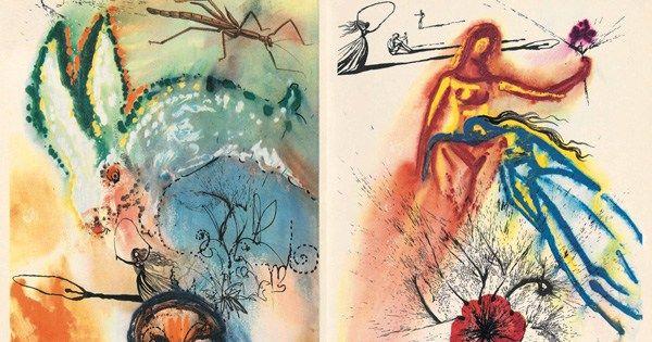 Salvador Dalí illustrates Alice in Wonderland brainpickings.org/2016/09/02/sal…