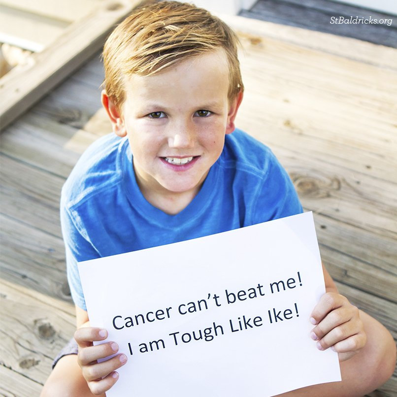 Cancer can&#39;t beat our 2017 St. Baldrick&#39;s Ambassador Ike. Diagnosed in 2013 w/ leukemia, he is now IN REMISSION! Join our Advocacy Network to speak up for kids with cancer:  http:// bit.ly/2AO8rJb  &nbsp;   #StBaldricks #advocacy <br>http://pic.twitter.com/fMhtZyigWh